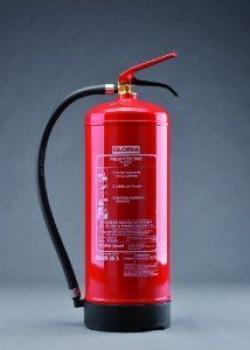 Feuerlöscher Gloria 9 Liter Wasser W9 DN