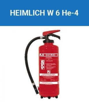 Feuerlöscher Heimlich / Minimax 6 Liter Wasser