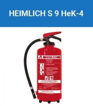 Feuerlöscher Heimlich / Minimax 9 Liter Schaum-Kartusche