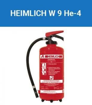 Feuerlöscher Heimlich / Minimax 9 Liter Wasser 55A